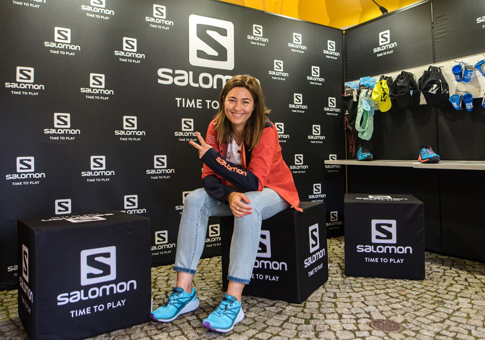 Beata Sadowska ambasadorka Salomon