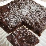 Przepis na kokosowy placek z czekoladą [PROSTY I SMACZNY]