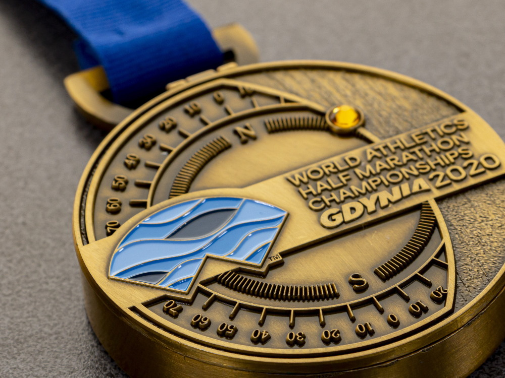 Medal Gdynia Półmaraton 2020