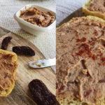 Pasta z ciecierzycy z suszonymi pomidorami [ŚWIETNA NA KANAPKI]
