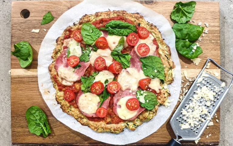 Pizza z cukinii przepis