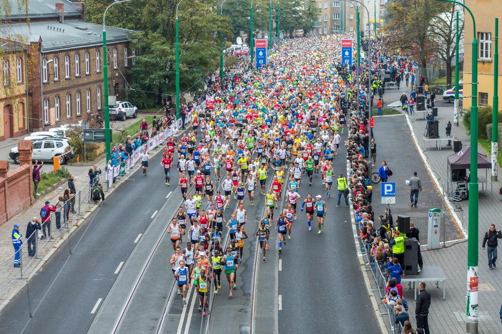20 października PKO Poznań Maraton utrudnienia w ruchu