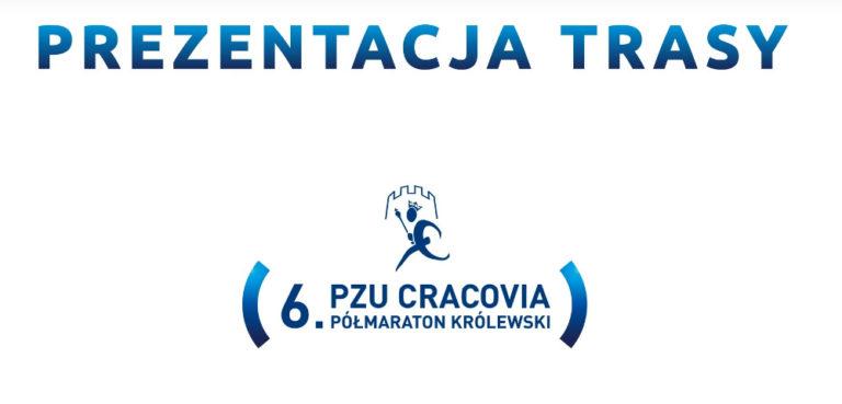 trasa PZU Cracovia Półmaraton Królewski 2019