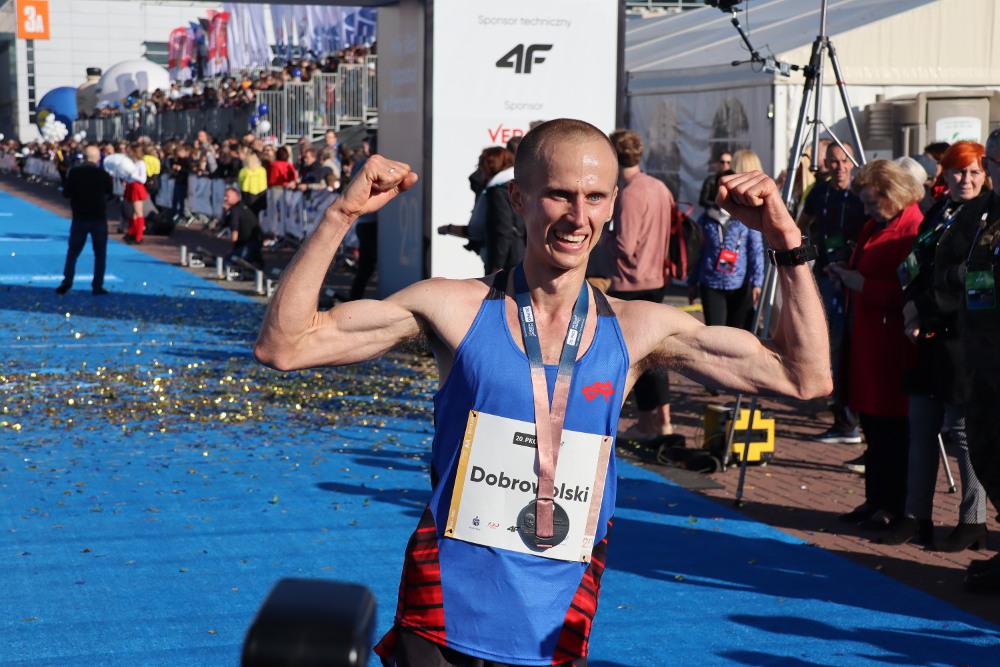 20. PKO Poznań Maraton dla Kenijczyka