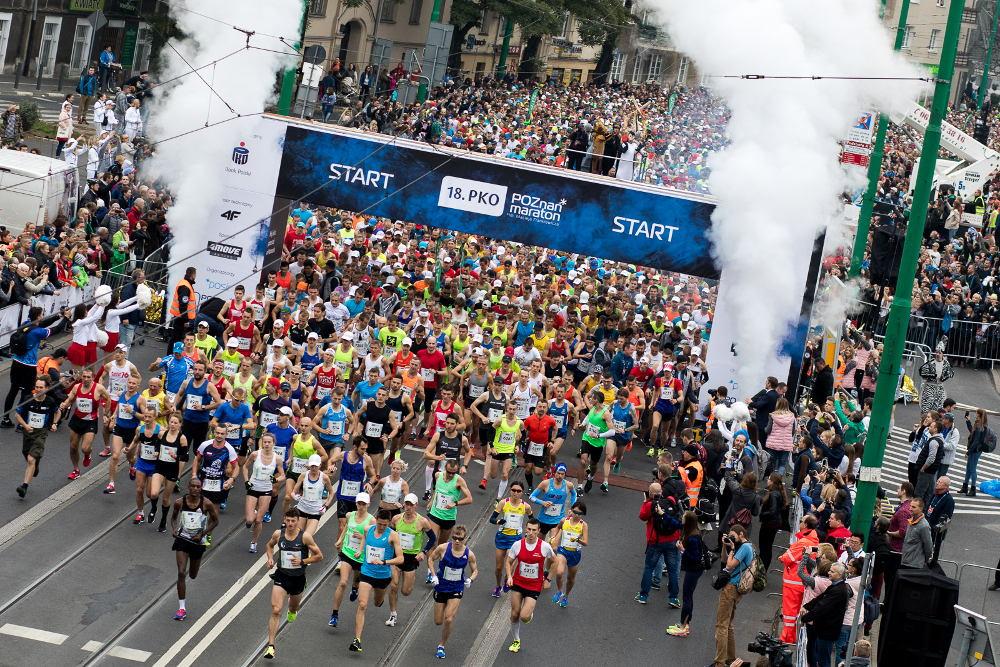 znamy trasę 20. PKO Poznań Maraton 2019
