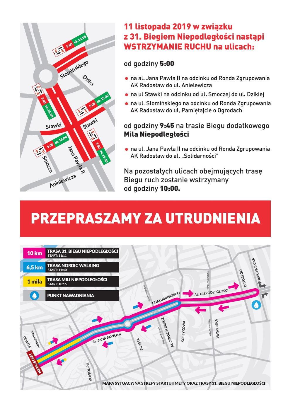 Bieg Niepodległości Warszawa