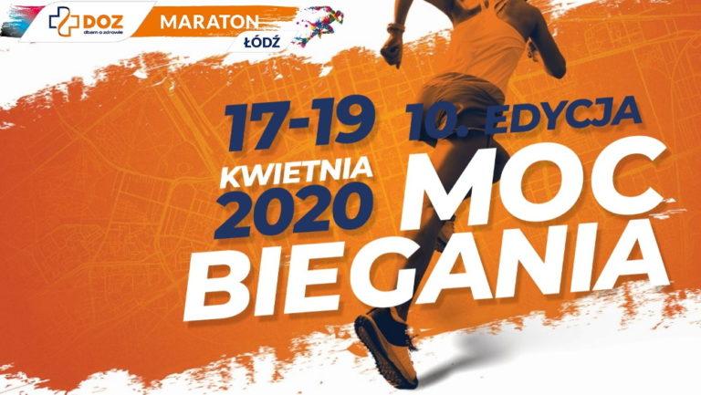 Jubileuszowy 10. DOZ Maraton Łódź