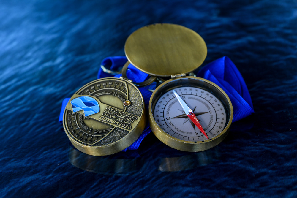 Gdynia Półmaraton 2020 medal