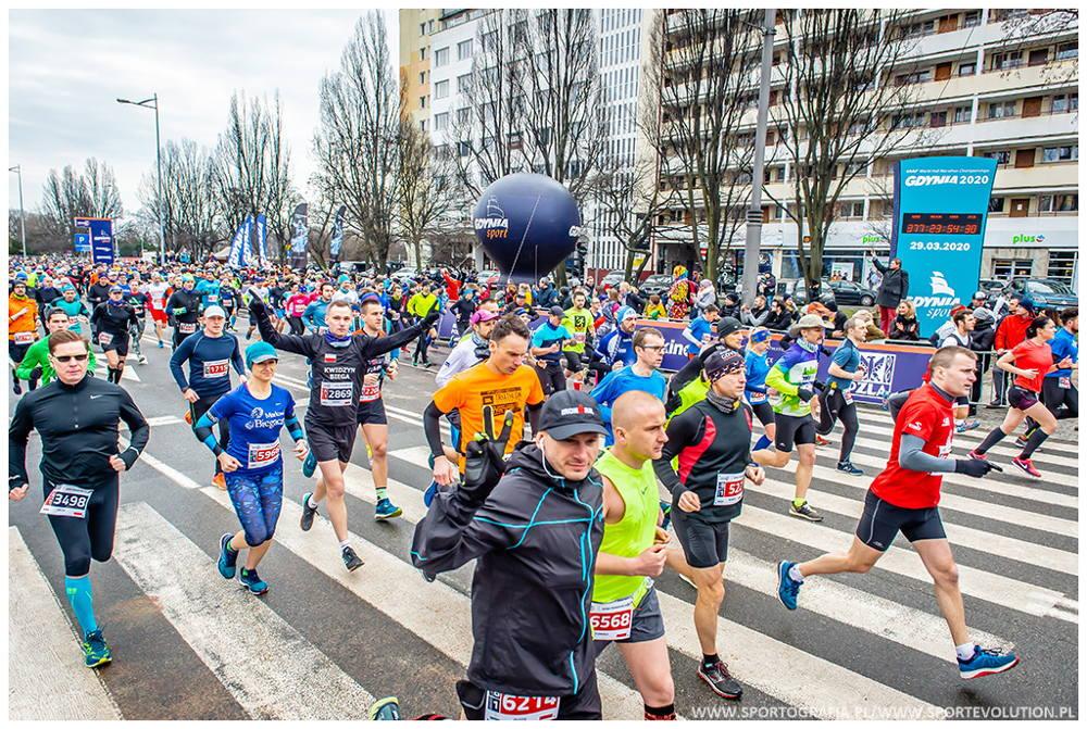 Gdynia Półmaraton 2020 pakiety wyprzedane