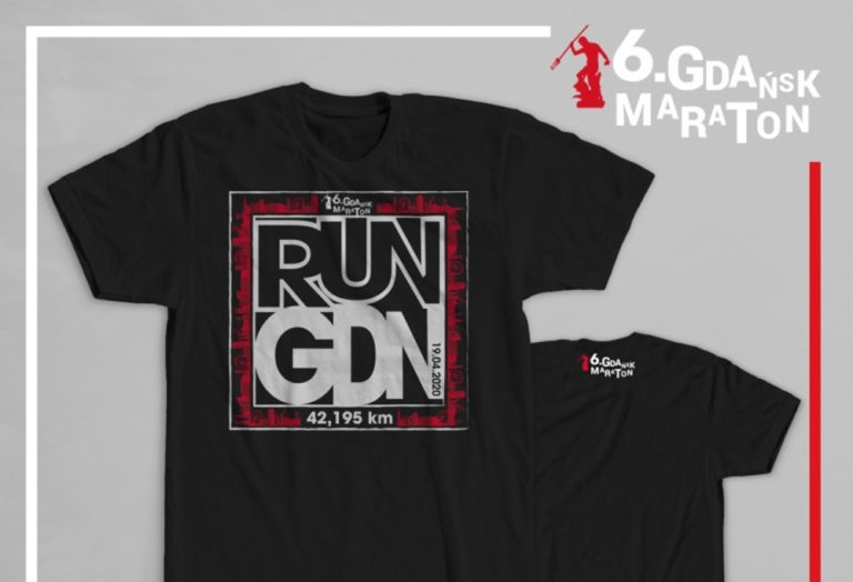 6. Gdańsk Maraton koszulka