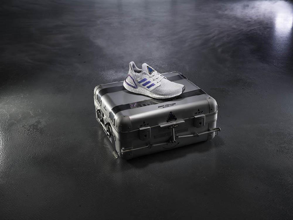 adidas wysyła porcję granulek Boost w kosmos