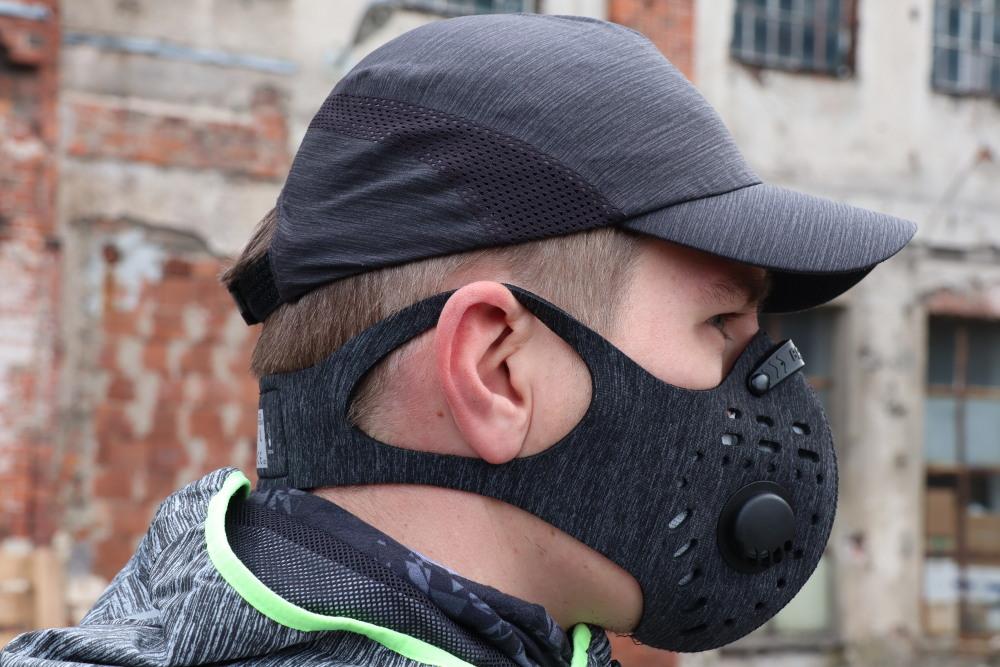 Maska antysmogowa do biegania