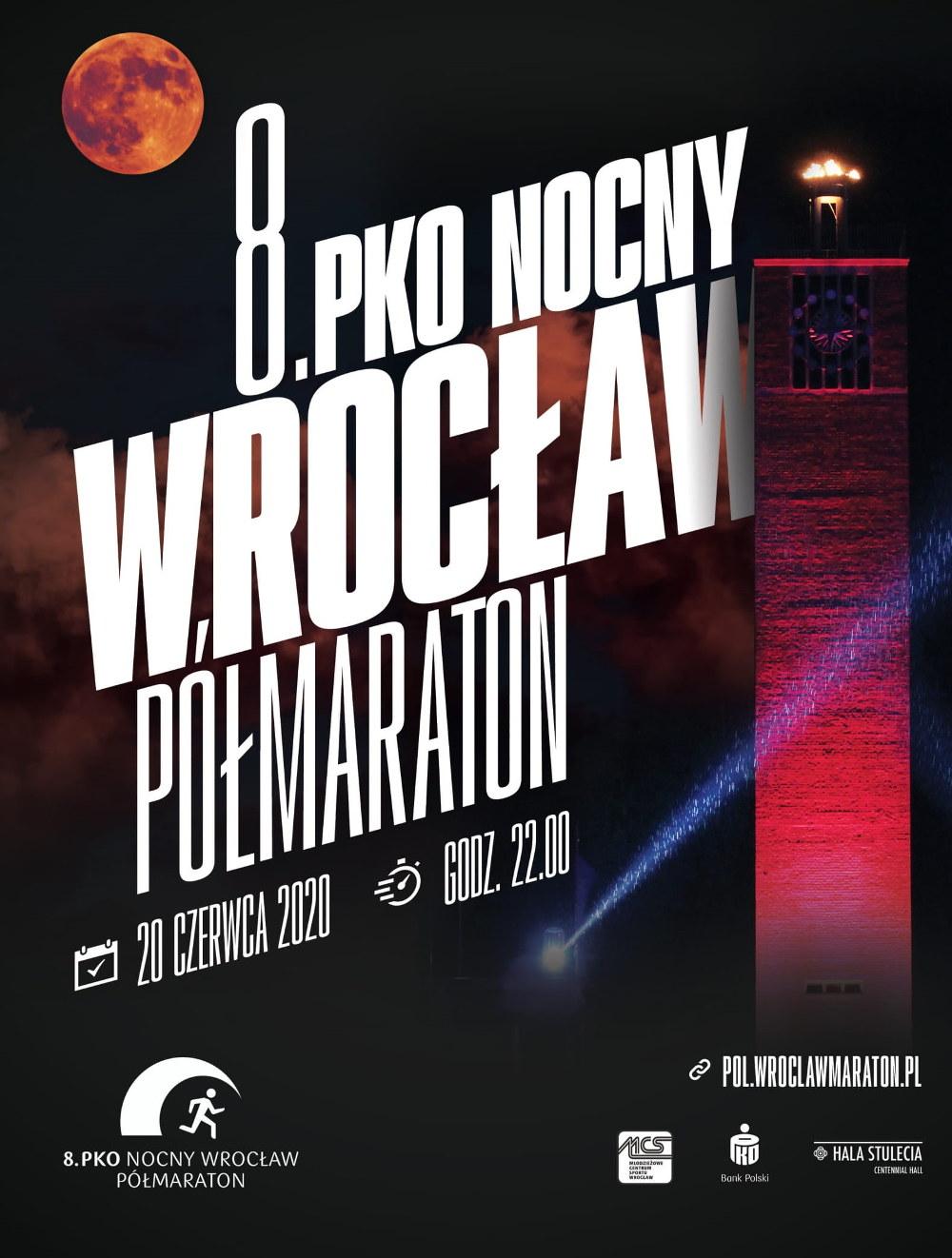 PKO Nocny Wrocław Półmaraton zapisy
