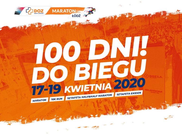 10. DOZ Maraton Łódź odbędzie się za mniej niż 100 dni
