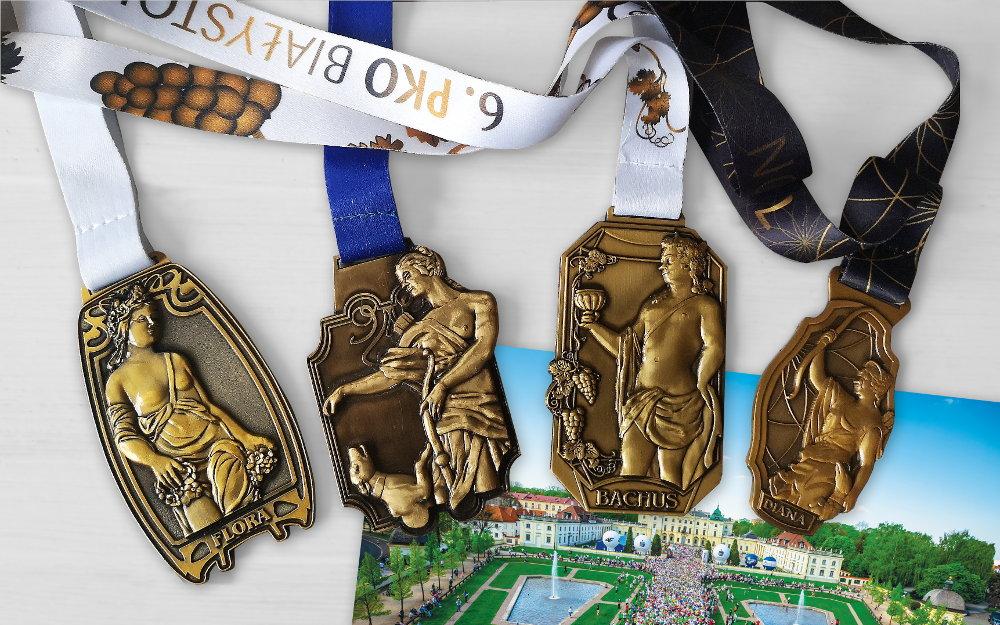 8. PKO Białystok Półmaraton medal