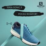 Salomon Sonic. Nowa kolekcja lekkiego i komfortowego obuwia