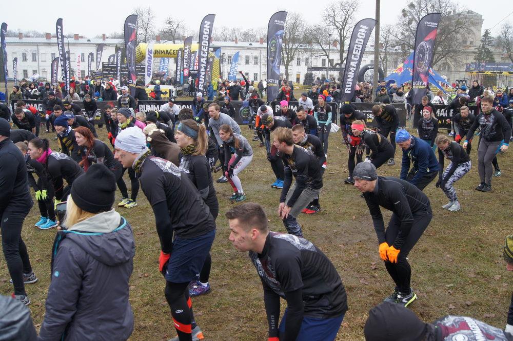 Zimowy Runmageddon Warszawa 2020