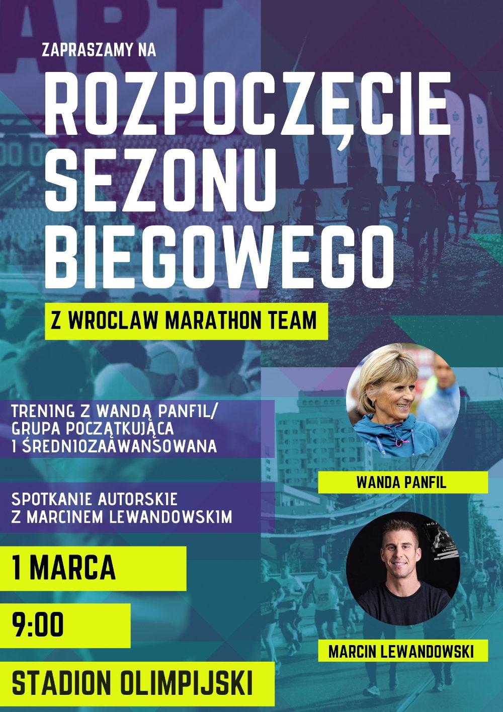 Wanda Panfil i Marcin Lewandowski we Wrocławiu