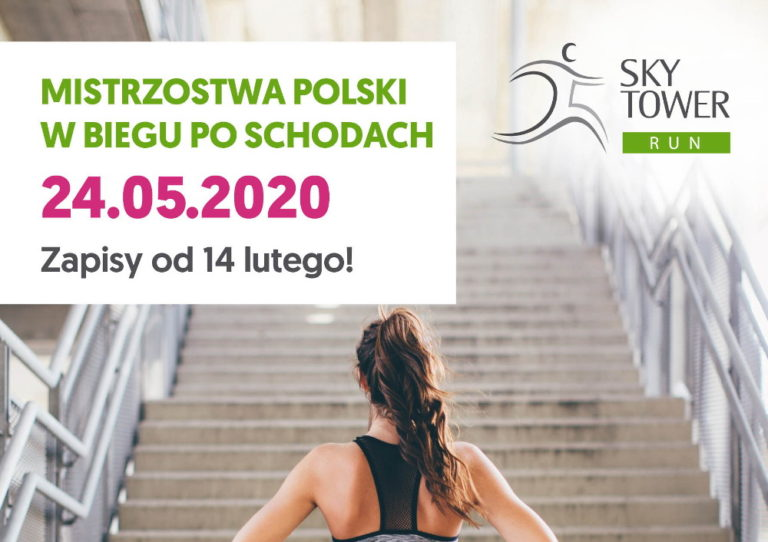 zapisy Sky Tower Run 2020