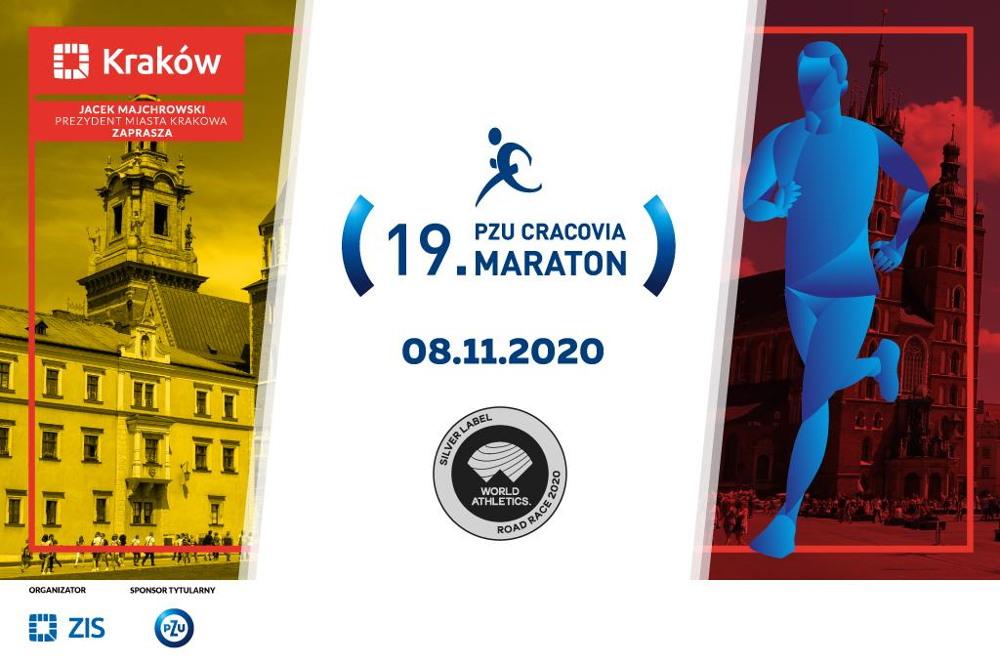 19. PZU Cracovia Maraton odbędzie się 8 listopada 2020 roku