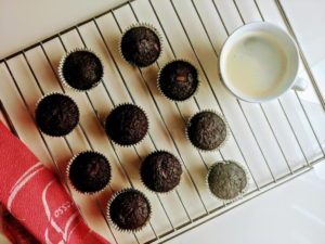 Babeczki czekoladowe gotowe w 30 minut